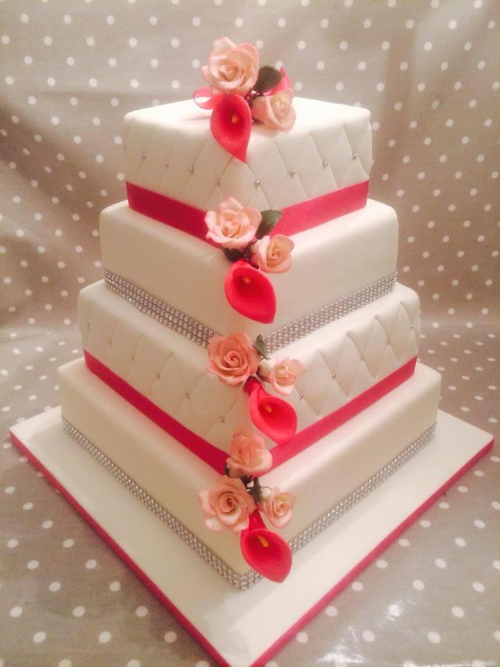 Fresh Rose Cake Topper